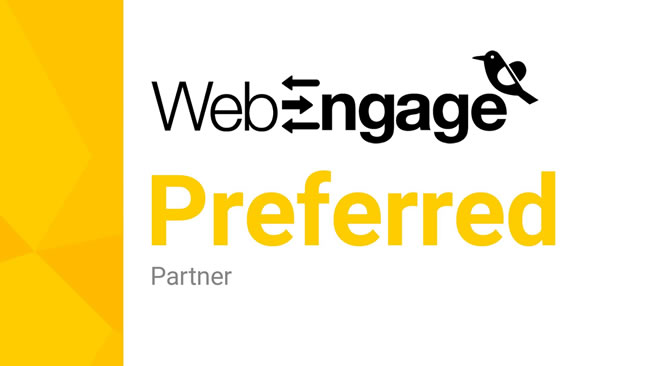 WebEngage Preferred Partner