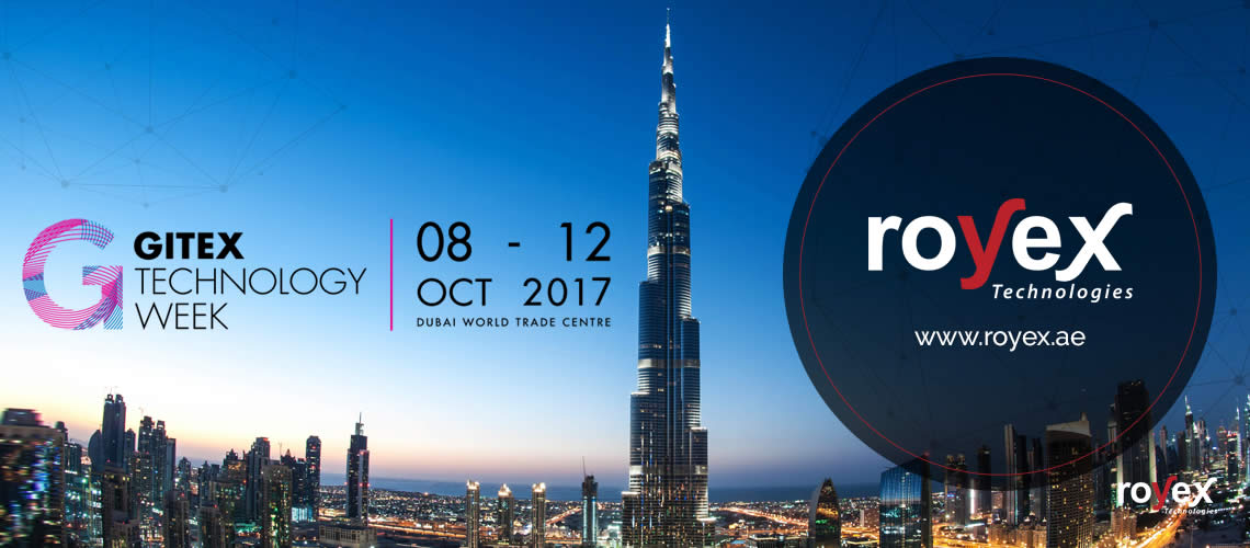 Royex Technologies is participating in GITEX Technology Week Dubai 2017