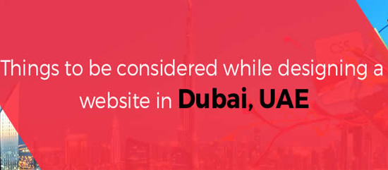 Things to be Considered while Designing a Website in Dubai, UAE