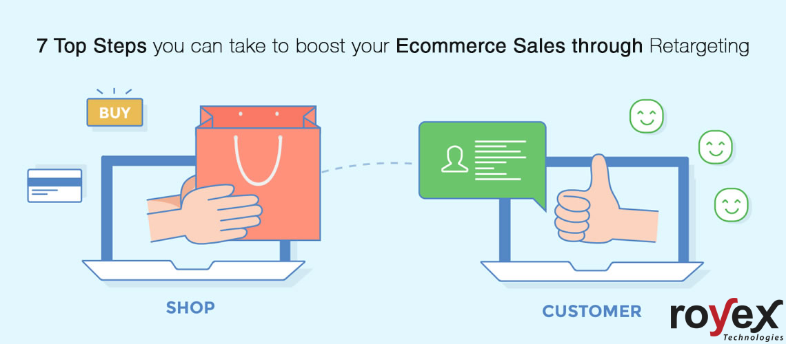 7 Top Steps you can take to boost your Ecommerce Sales through Retargeting