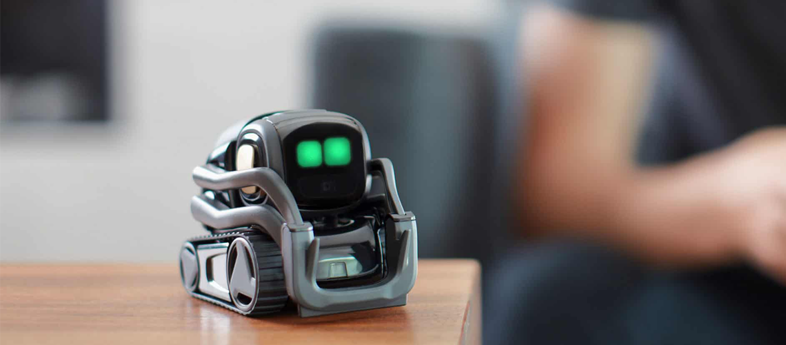 Vector by Anki : A personal Robot who hangs out & helps out with Amazon Alexa Built-In