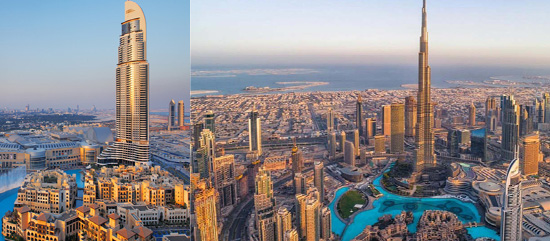 Let's explore the Dubai in Bird's Eye view