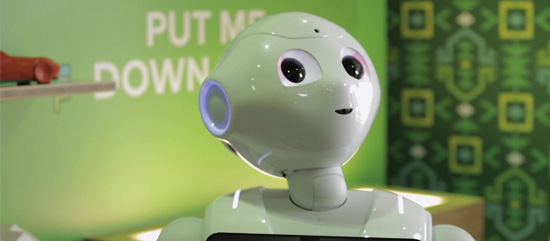 "South Africa's First Humanoid Robot ""Pepper"""