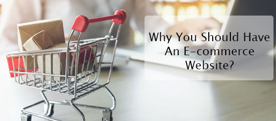 Why You Should Have An E-commerce Website?
