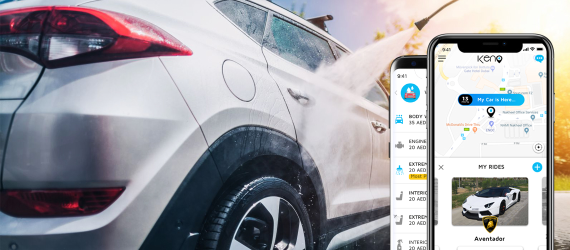 How to develop a Car Wash and Service app like KENO?