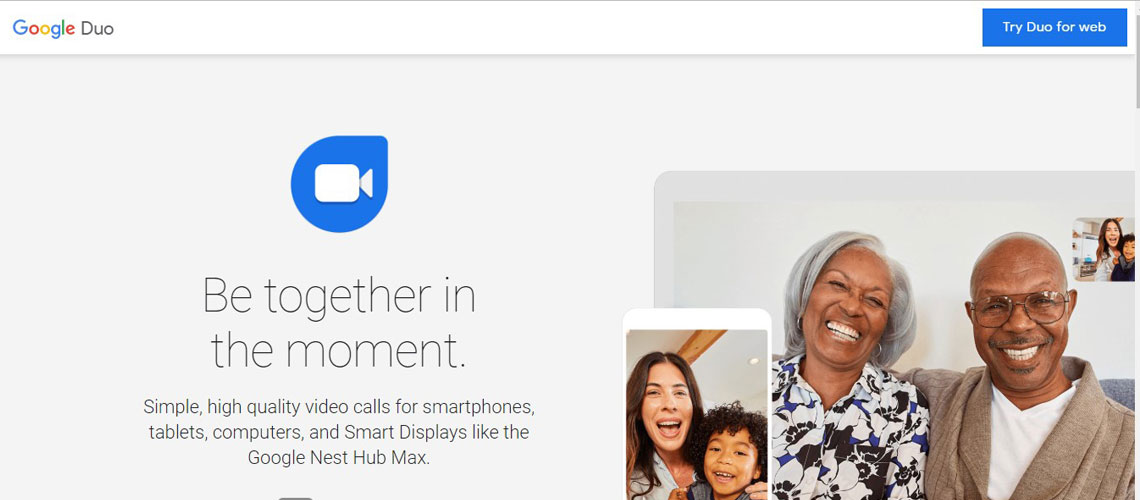 Be together in the moment with Google Duo