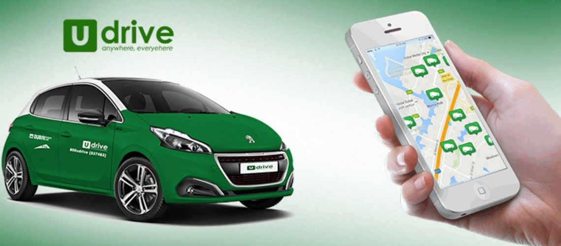 Development Cost and Working of Udrive - The Smart Car rental Application