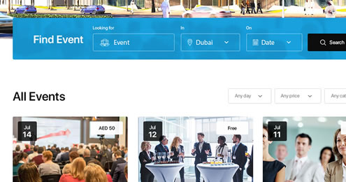 Why is it necessary to have an event management platform like Eventbrite in Dubai?