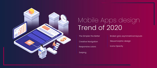 Mobile Apps Design Trend of 2020
