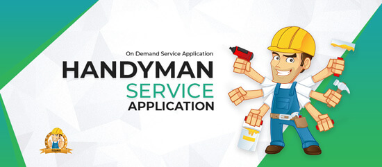 On Demand Service Application or Handyman Service Application
