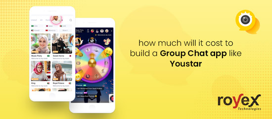 How much will it cost to develop Group chat app like YouStar