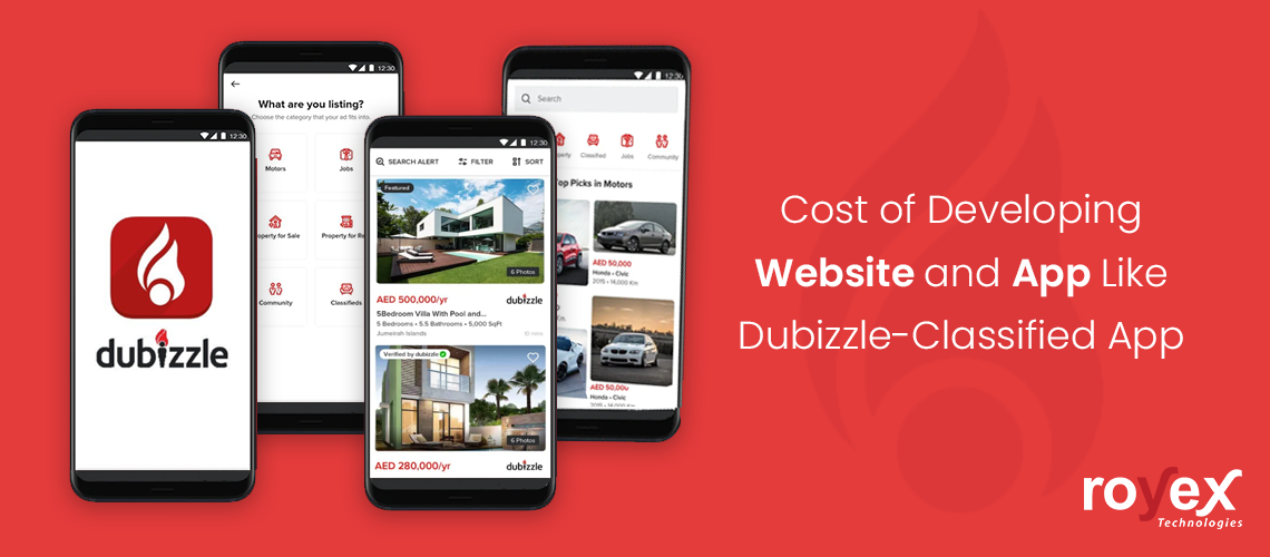 Development cost of a Classifieds platform like Dubizzle
