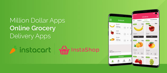 Million Dollar Apps: Online Grocery Delivery Apps