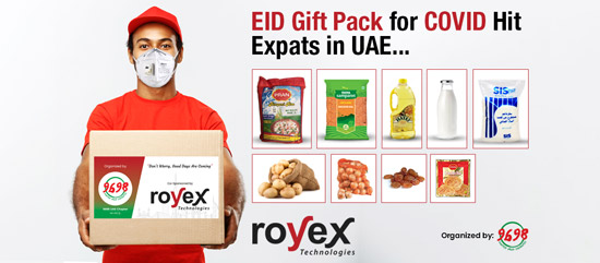 Eid Gift Pack For Covid Hit Expats In The UAE