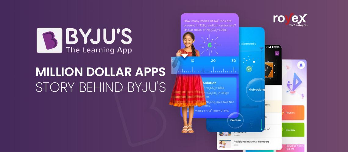 Million Dollar Apps - Story Behind Byju's