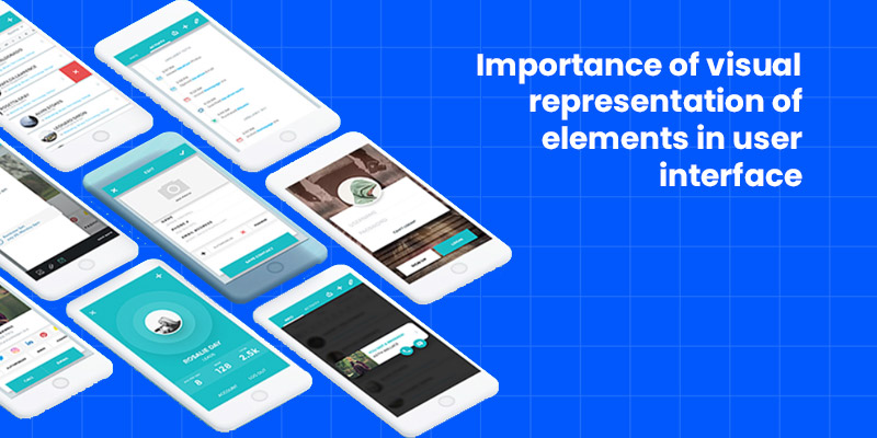 Importance of visual representation of elements in user interface