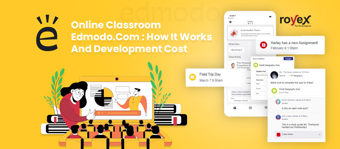 Online Classroom Edmodo -  How It Works And Development Cost