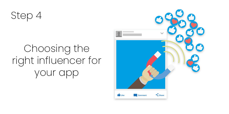 Choosing the right influencer for your app