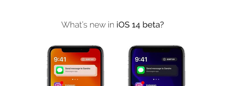 What's new in iOS 14 beta