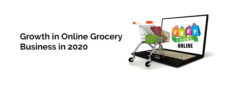 Growth in Online Grocery Business in 2020