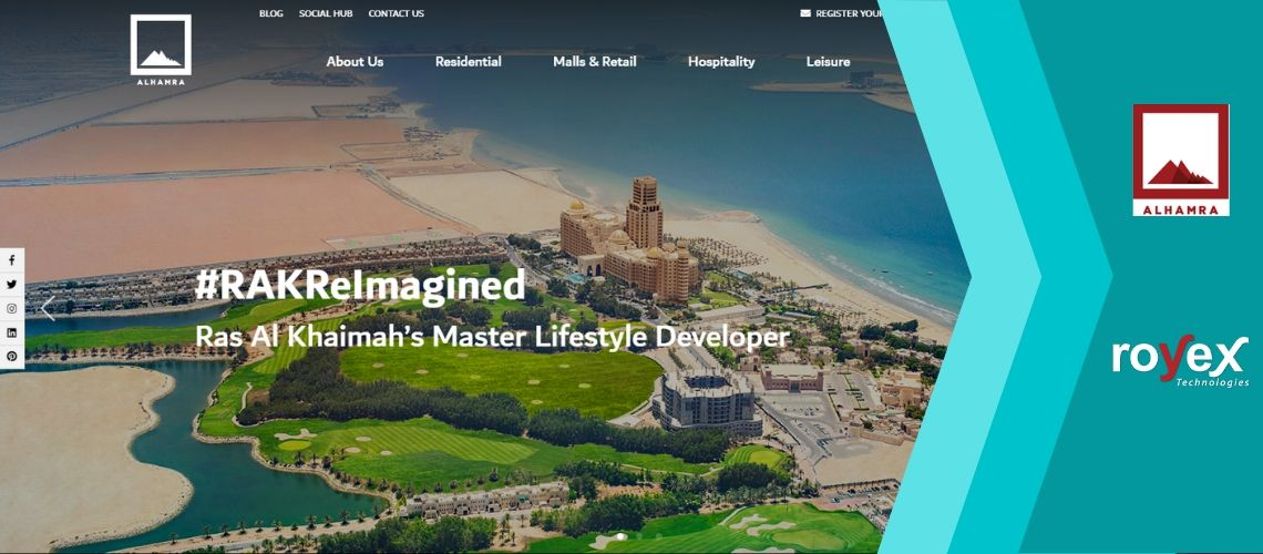 [NEWS] Al Hamra Website Is Now Live (Developed By Royex Technologies)
