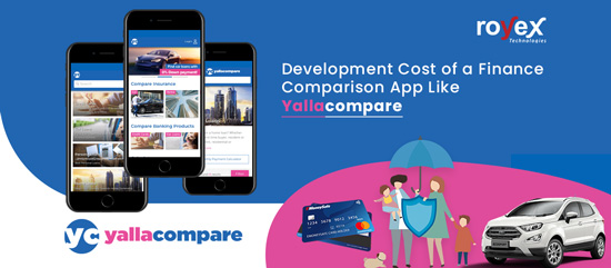 Development Cost of a Finance Comparison App Like Yallacompare