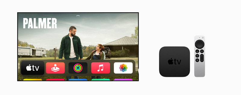 New Apple TV and Apple TV remote